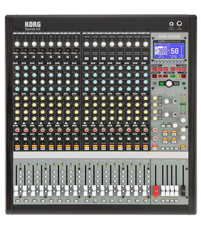 KORG MW-2408 Hybrid Analog/Digital Mixer