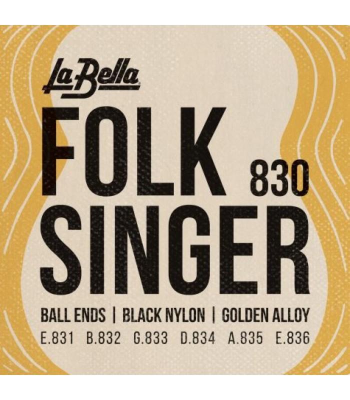 La Bella 830 Folk Singer
