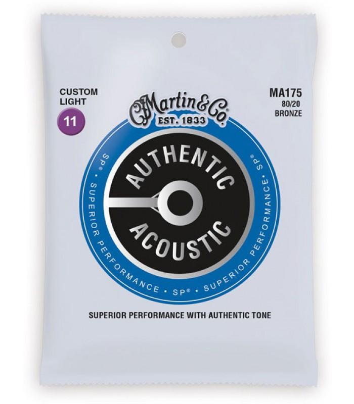 Martin Acoustic MA175 Žice za akustičnu gitaru 011 set