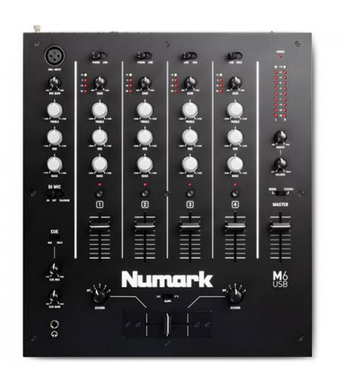 Numark M6 USB BLACK DJ mikseta