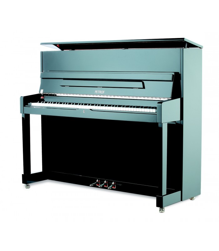 Petrof P 118 M1 pianino Black Polish