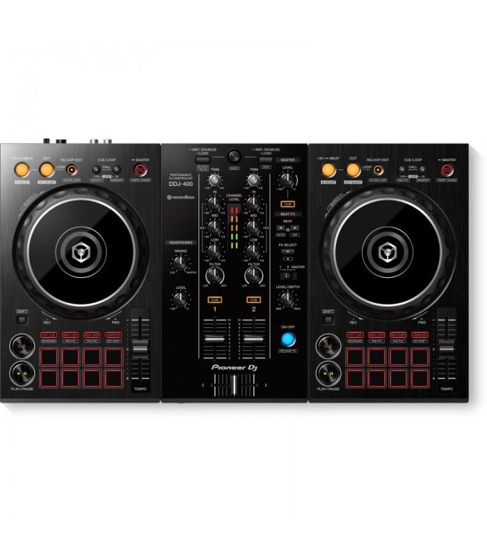 Pioneer DDJ-400 Dvokanalni DJ kontroler + torba na poklon