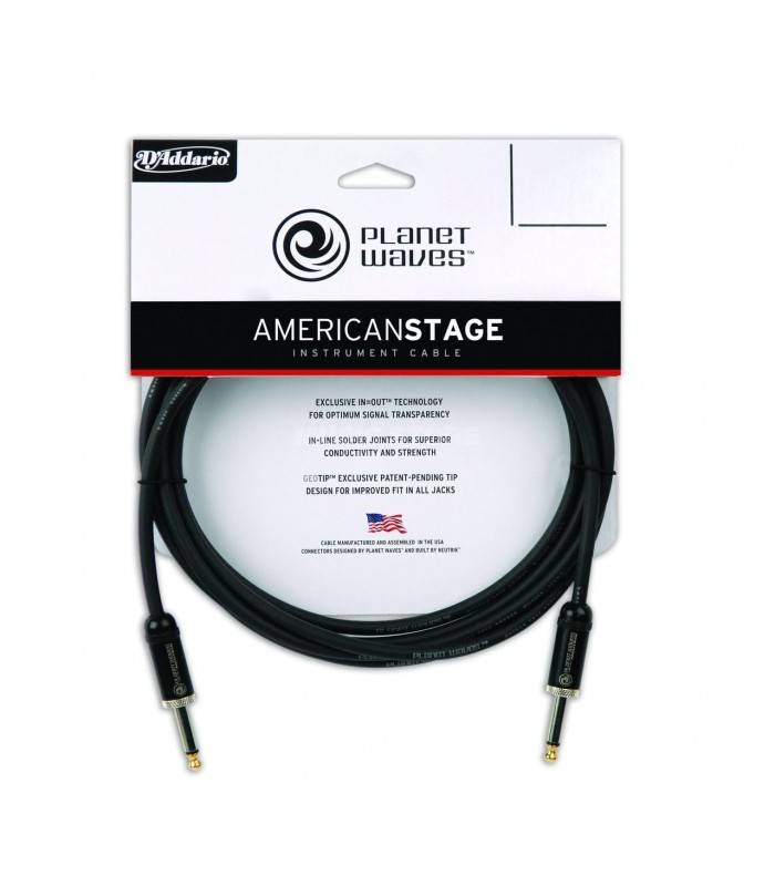 Planet Waves PW-AMSG-20 AMERICAN STAGE INST CABLE 20'