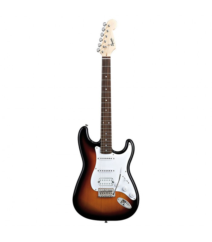 Squier By Fender Bullet Strat with Tremolo HSS. Rosewood Fretboard. Brown Sunburst električna gitara