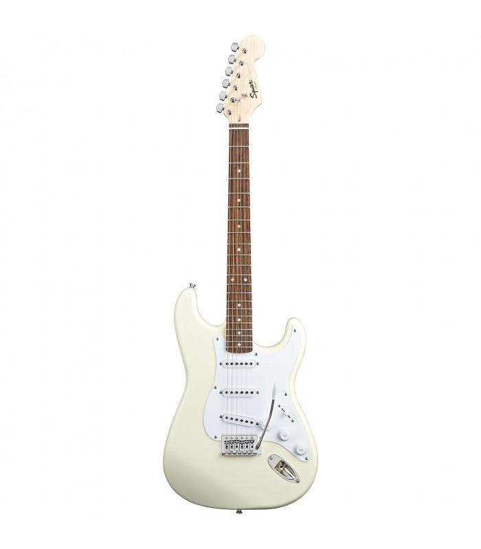 Squier By Fender Bullet Strat w/ Tremolo. Rosewood Fretboard Arctic White električna gitara