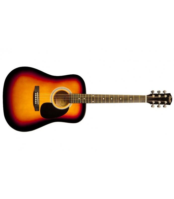 Squier By Fender SA-105 Sunburst Akustična gitara