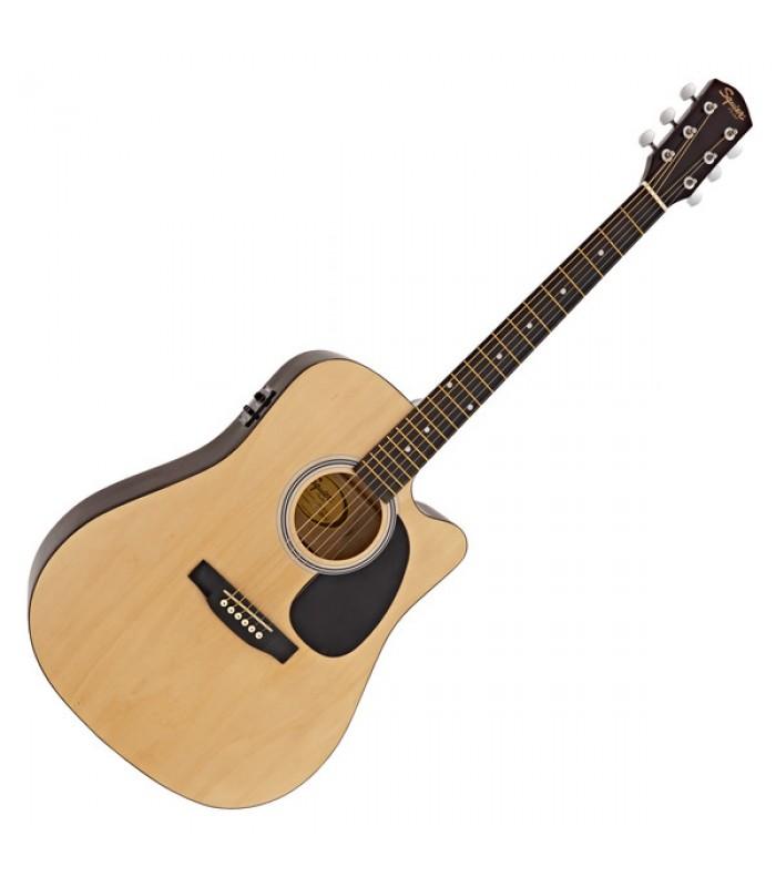 Squier SA-105CE Natural ozvučena akustična gitara