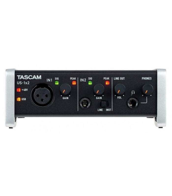 TASCAM US-1X2 muzička karta