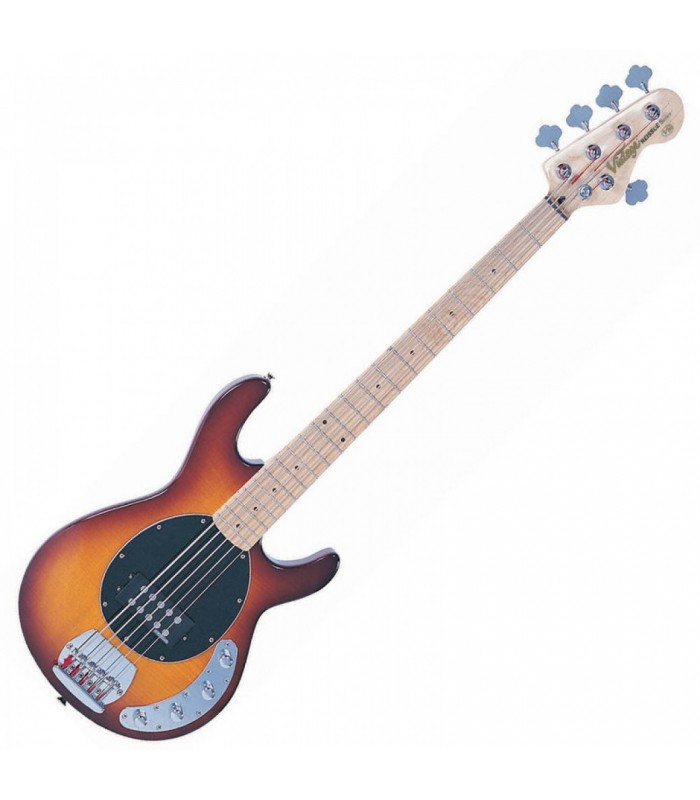 Vintage - V965TSB 5-STRING ACTIVE BASS - FLAMED TOBACCO SUNBURST