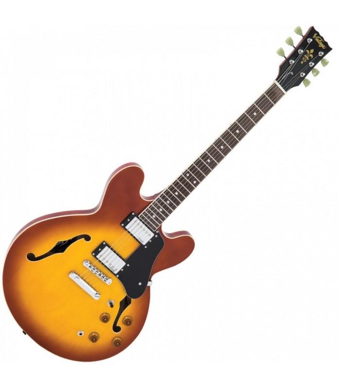 Vintage - VSA500HB Električna Gitara - Honey Burst