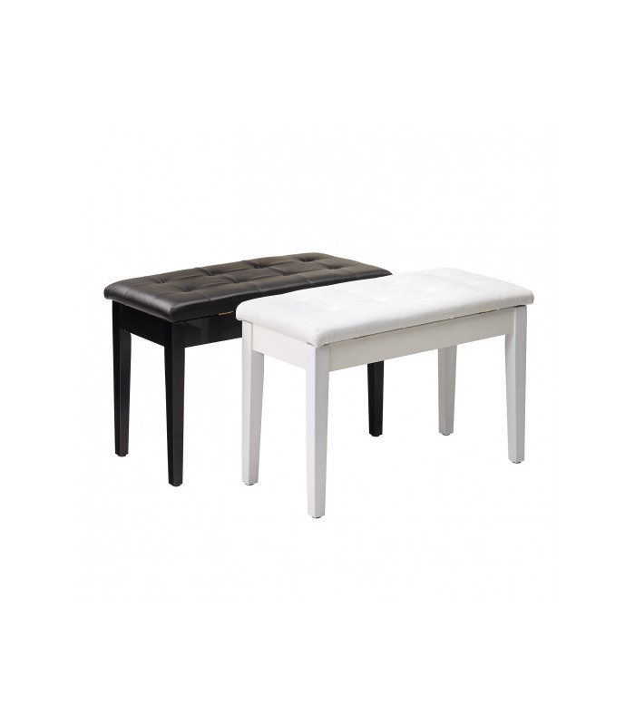 William Wagner PIANO BENCH DOUBLE TYPE BLACK