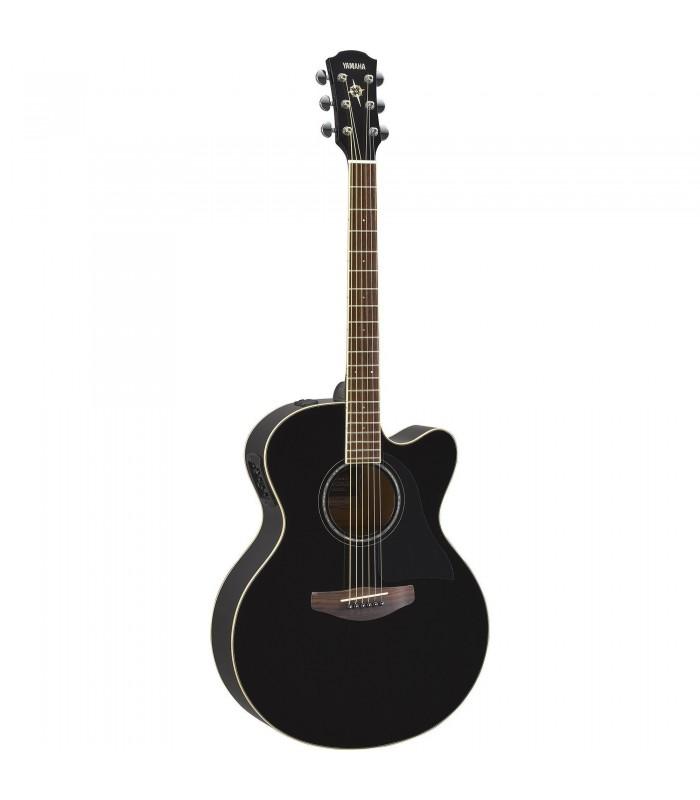 Yamaha CPX600 black ozvučena akustična gitara