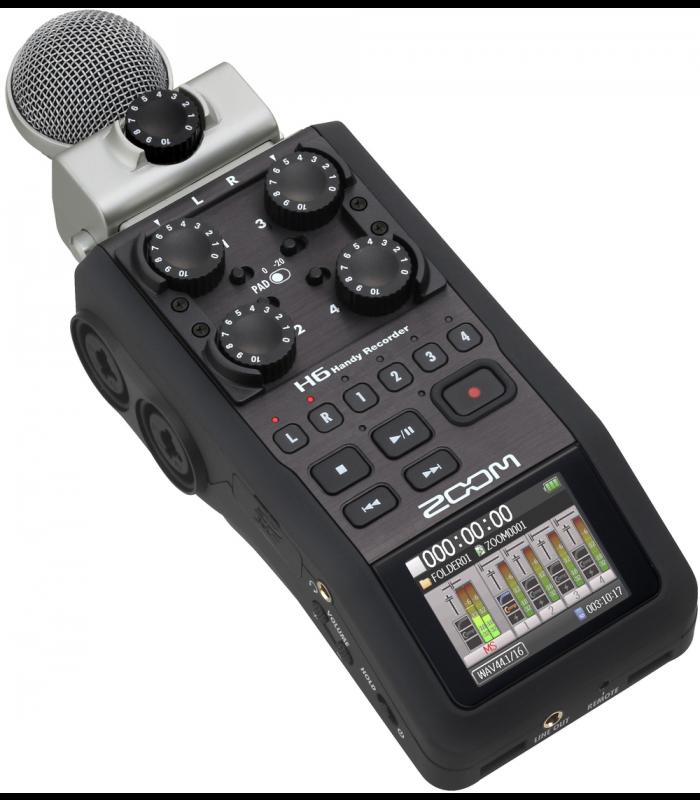 Zoom H6 Black Digitalni snimač