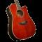 D'Angelico Excel Bowery Auburn Ozvučena akusitčna gitara