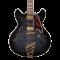 D'Angelico Excel DC 2018 Grey Black Električna gitara