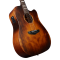 D'Angelico Premier Bowery Aged Natural Mahogany Ozvučena akusitčna gitara