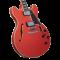 D'Angelico Premier DC Fiesta red Električna gitara