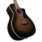 D'Angelico Premier Mott Grey Black Ozvučena akusitčna bas gitara