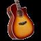 D'Angelico Premier Gramercy Iced tea burst ozvučena akustična gitara